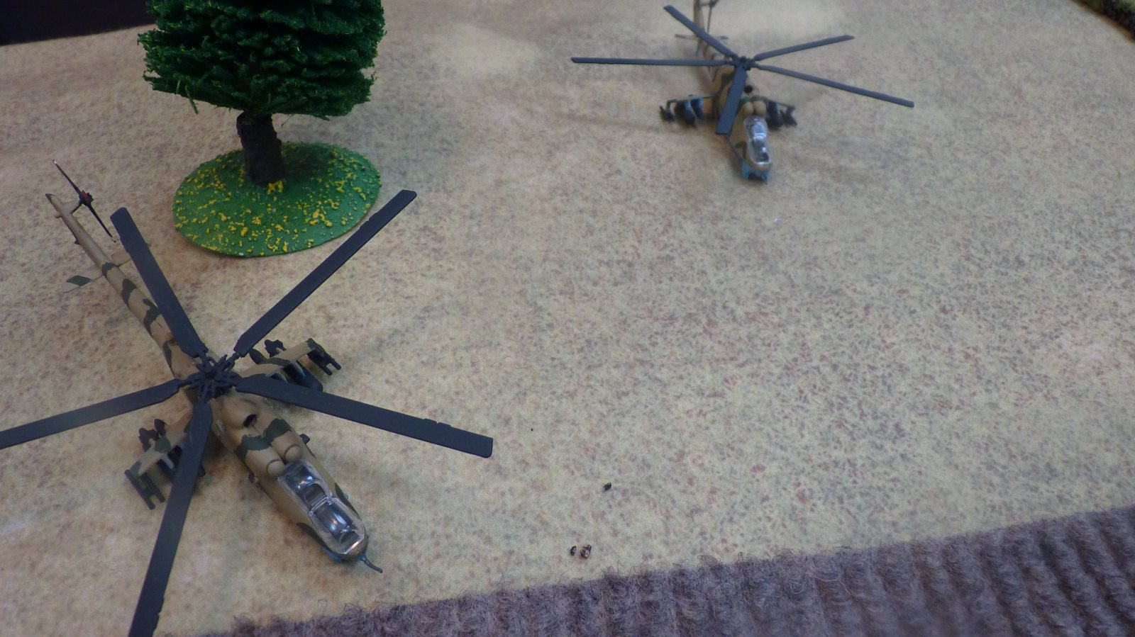 Soviet helicopters swoop into to attack