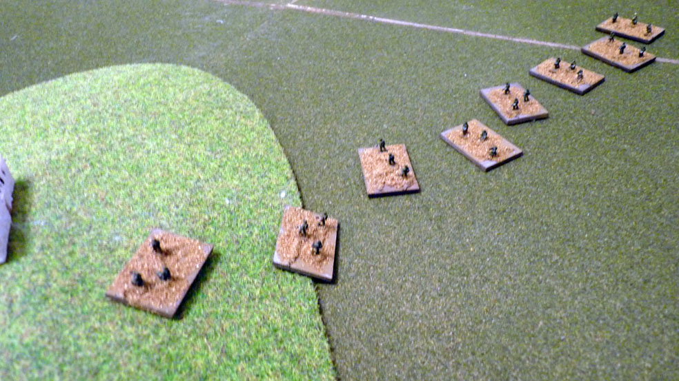 Indian infantry move to reinforce