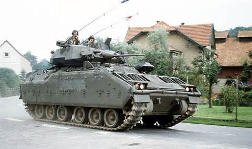 United States M2 Bradley infantry fighting vehicle